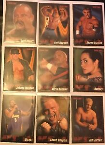 Vintage 2000 WCW Wrestling Magazine Trading Card Set RARE Pick Choose Your Card