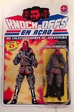 GI. Joe Cobra Custom Carded Baron Bloodclot Action Figure