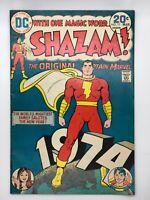 SHAZAM #11 DC 1974 BRONZE AGE THE WORLDS MIGHTIEST DESSERT! COMIC BOOK