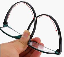 L869 Superb Quality Plain Reading Glasses/Lightweight Frame & Flexible Long Arms