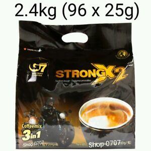 96 sachets x 25g Vietnam Trung Nguyen G7 STRONG X2 Instant Coffee 3in1 Coffeemix