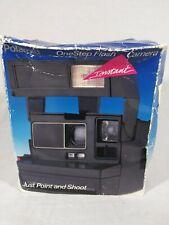 VINTAGE Polaroid OneStep Flash 600 Instant Film Camera w/Strap