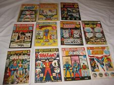 Bronze Lot of 11 DC 100 Page Super-Spectaculars: 6 8 14 15 16 17 18 19 20 21 22