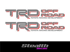 TRD OFF ROAD Side stickers/ decals x2 Premium Quality Hilux Land cruiser