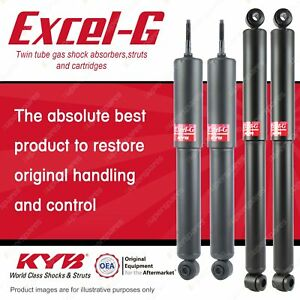 Front + Rear KYB EXCEL-G Shock Absorbers for CHRYSLER Valiant VJ VK CL CM RWD