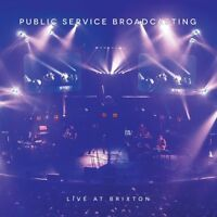 "Public Service Broadcasting - Live At Brixton (NEW 2x 12"" COLOURED VINYL LP+DVD)"