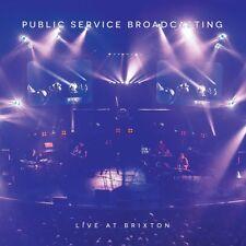 Public Service Broadcasting LP X 2 DVD Downloads Live at Brixton Blue Vinyl