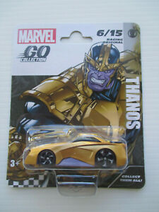 MARVEL GO COLLECTION -CHARACTER CARS -*THANOS* RACING ORIGINAL #6/15 NEW! 3+