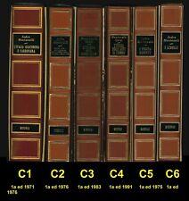 Montanelli-Gervaso, STORIA D'ITALIA, LottoC 6 volumi, Rizzoli