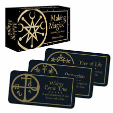 Making Magick Mini Oracle NEW Cards in Magnetic Box by Priestess Moon (2019)