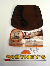 Fred Bear Archery Traditional Bow Equipment - Armguard AT9AG - For Recurve/ Long