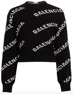 Black Balenciaga sweater