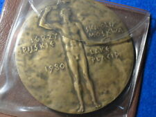 Lake Placid 1980 Poland NOC Olympic Participation Medal