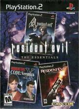 Resident Evil: The Essentials Collection [PlayStation 2 PS2, Veronica, Outbreak]