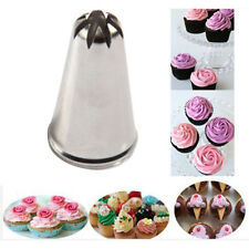 Drop Rose Flower Cup Ice Cream Piping Tip Nozzle Cake Decorating Pastry Tool Hot