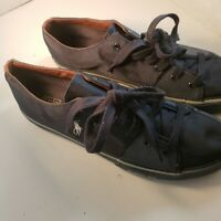 Mens Navy/Grey Polo Shoes Size 12 Great Shape!