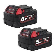 Baterías y cargadores Milwaukee de iones de litio (li-ion) para herramientas eléctricas de bricolaje
