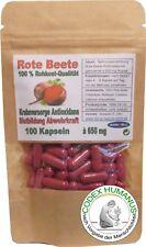 100 Kapseln à 650 mg Rote Beete Pulver Gemüse Rohkost Krebs Blutbild Immunsystem