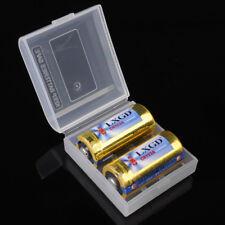 16340/RCR123 Battery Case Box Holder Storage 5pcs For 2Pcs RCR123/16340