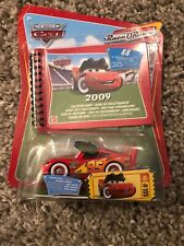 Disney Cars Lightening Mcqueen With Lenticular Eyes With 2009 Collectors Guide B