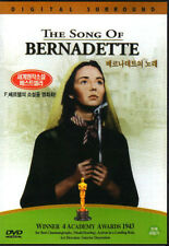 The Song Of Bernadette(1943) - Henry King, Jennifer Jones, William Eythe DVD NEW