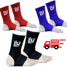 Ankle Foot Support MMA Boxing Brace Guard Pads Kick Muay Thai UFC Gym Anklet