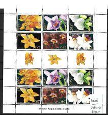 Nederlandse Antillen @ 2006  Compleet Vel  Orchideen   # N.A 38
