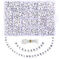 1 set Kinder pädagogische DIY Schmuck Zubehör Perlen bunte brief perlen Schmuck