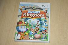 jeu Nintendo Wii My Sims Kingdom  - complet en VF