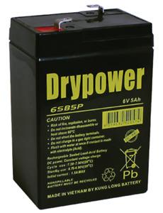 FP650 6V 5Ah AGM Battery Rp. GP645 PS640 DM6-4 CB6V4.5Ah CP645 RT645 LC-R064R5P