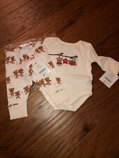 New Nwt Gymboree Baby Outfit Christmas Holiday 0-3m Months