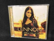 Lennon Promo CD New Sealed Damaged Goods Where Do I Fit In