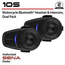 SENA10S-01D, Motorcycle Bluetooth Communication System Dual Pack