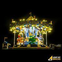 LIGHT MY BRICKS - LED Light kit for LEGO Carousel 10257 Lego Light Kit