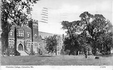 Columbia Missouri~Christian College~1910 Blue Sky Postcard