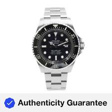 Rolex Sea-Dweller DEEPSEA 126660 Cuadrante Negro Acero Automático para Hombre Reloj