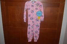 PAJAMAS Pink Size 6 Child GIRL FRIENDS Long Sleeve 2 Piece Sleepwear USA NWT