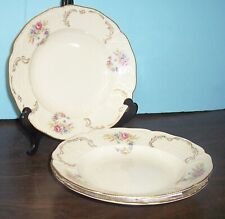 """3 ROSENTHAL SANSSOUCI HEIRLOOM SOUP BOWLS 9"""" NEVER USED FREE U S SHIPPING"""
