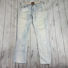 Rich And Skinny Denim Jeans Pants Size 24 Distressed Destroyed Bleached Skinny..