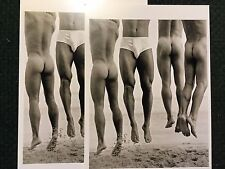 Jump, Paradise Cove 2 photo POSTCARDS Beautiful nude men. Photo by Herb Ritts