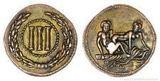 Roman spintria erotico Bordello TESSERE Token III Bronzo