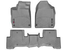 WeatherTech FloorLiner Floor Mats for Acura ZDX - 2010-2013 - Grey