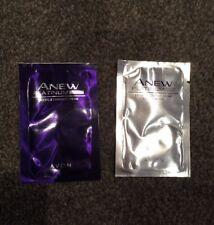 2xSAMPLE SACHET Of Avon Anew Platinum Night & Day Define ,Contour Cream FREE P&P