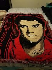 "ELVIS PRESLEY Woven Blanket Wall Tapestry Throw 48"" X 60"" EPE"