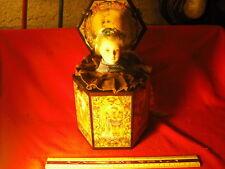 Vintage Enesco Rapunzel Porcelain Doll Jack In The Box Music Box MIB
