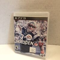 Madden NFL 17 Complete (Sony PlayStation 3, PS3 Football Game 2016) Works Good