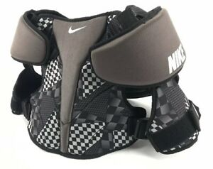Nike Lacrosse Vapor LT Shoulder Pads Size Small Black & Whit / Lightweight