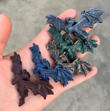 Flying Dragon Pin || Handmade Resin Dragon Pin | Carved Dragon Pin