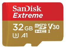 SanDisk 32GB Micro SD HC Memory Card For GoPro Hero 5 4 3+ Session 4K Video