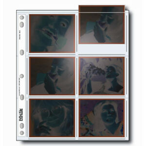 50 x PRINT FILE Polaroid Negative Pages Sleeves Film Archival EM-6